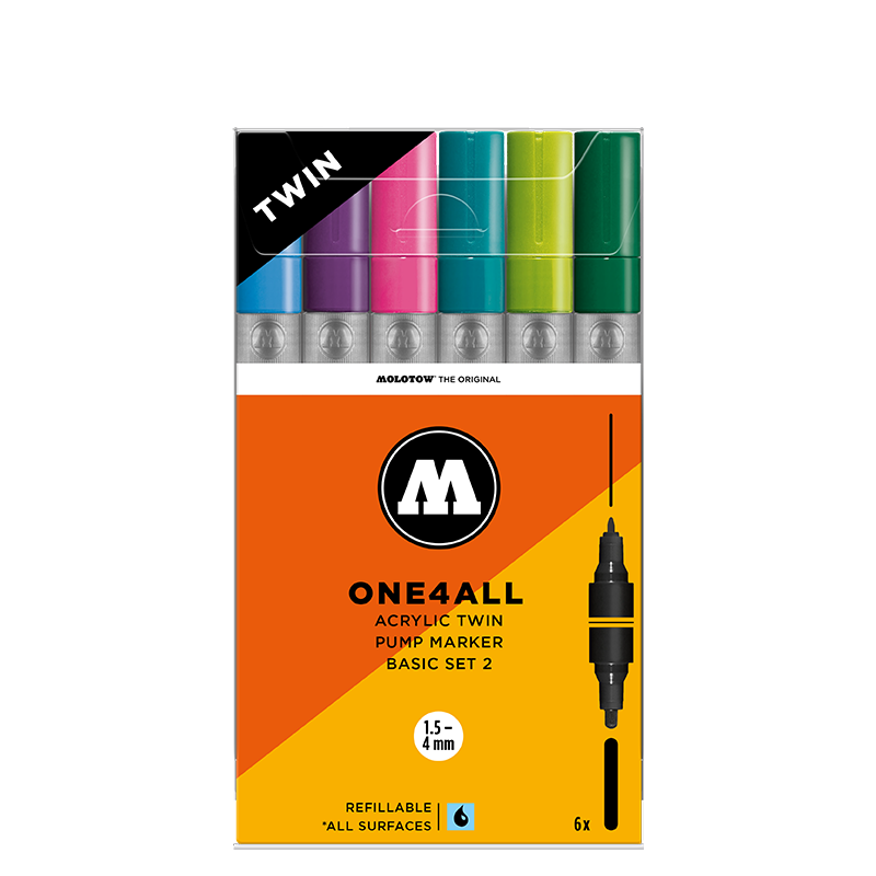 ONE4ALL ACRYLIC TWIN Basic-Set 2