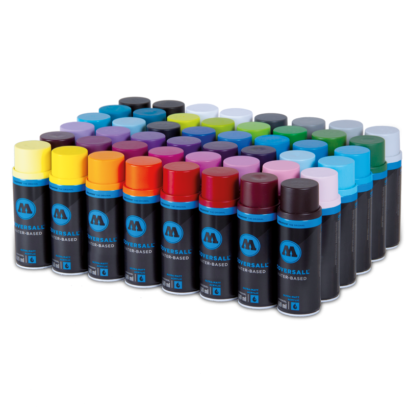 COVERSALL™ WATER-BASED COLOR SET 48 PACK