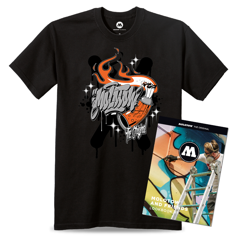 MOLOTOW™ AND FRIENDS T-SHIRT TASTE