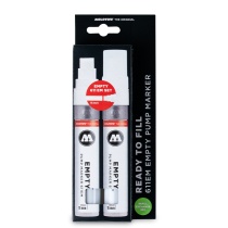 611 EMPTY MARKER 2ER SET MIT REFILL EXTENSION