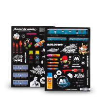 MOLOTOW™ Sticker Sheets