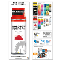 Urban Fine-Art™ Special Series Color Chart Poster