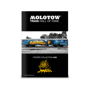 "MOLOTOW™ Train Poster #05 ""SLIDER & CAPARSO"""
