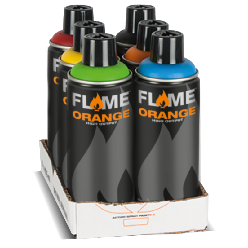 FLAME™ ORANGE Tryout Pack 1