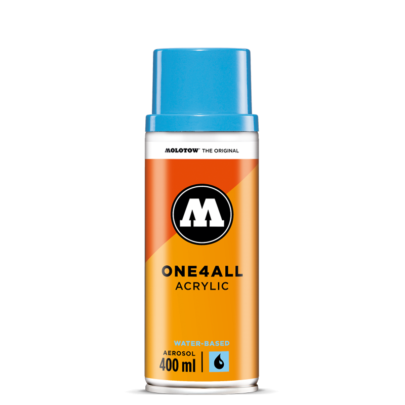 One4all Acrylic Water Based Spray 400 Ml Artist Cans