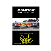 "MOLOTOW™ Train Poster #04 ""BOOGIE"""