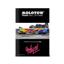 "MOLOTOW™ Train Poster #06 ""MADC"""
